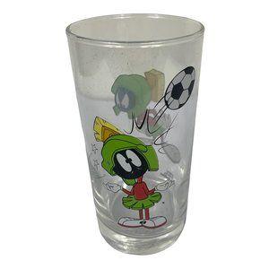 Marvin The Martian Looney Tunes Vintage Glass 1997 Warner Bros. Memorabilia